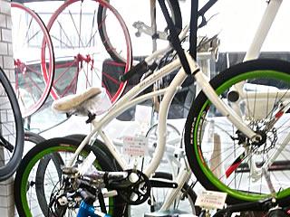 ディスプレイ展示自転車2