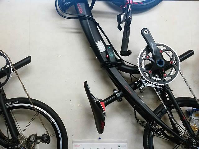 ディスプレイ展示自転車1